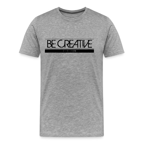 becreative tailored - Premium-T-shirt herr
