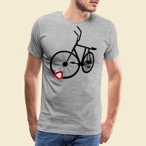 Radball   Black - Männer Premium T-Shirt
