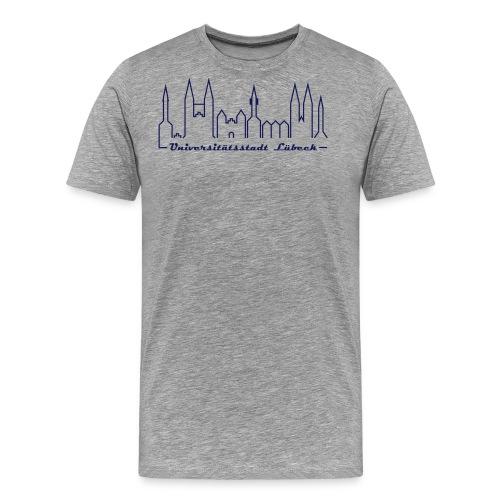 luebeck unistadt - Männer Premium T-Shirt