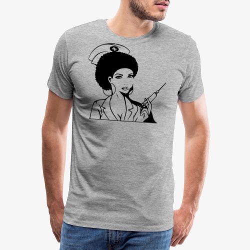 Nurse - Miesten premium t-paita