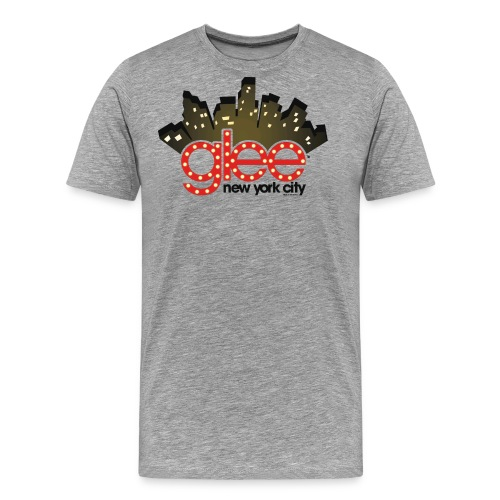 Glee Logo New York Skyline - Männer Premium T-Shirt