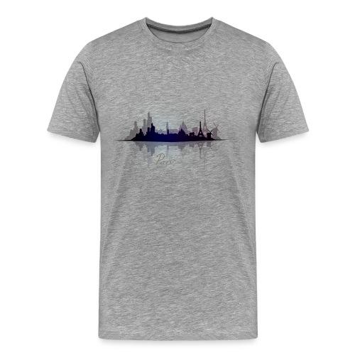 Paris city of light - T-shirt Premium Homme