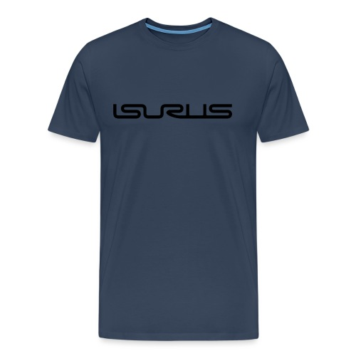 Isurus Text Logo Black - Men's Premium T-Shirt