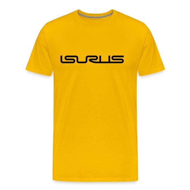 Isurus Text Logo Black