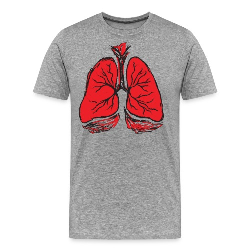 Pulmones - Camiseta premium hombre