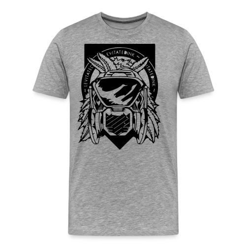 Apache Levitated Mask - Men's Premium T-Shirt