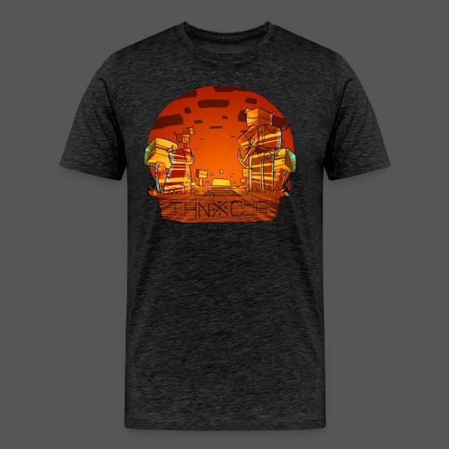 ThnxCya tshirt sunset design by Jonas Nacef png