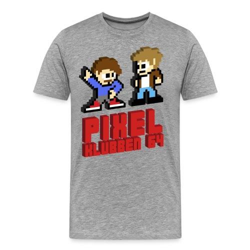 T-shirt med stor logga (Herr) - Premium-T-shirt herr