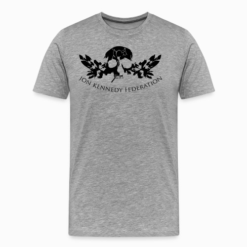 Jon Kennedy Federation Skull Logo 2.2 - Men's Premium T-Shirt