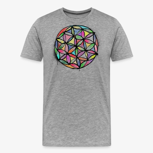 lifeflower By TheRawburt - Premium-T-shirt herr