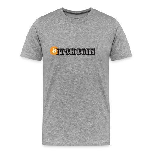 Bitchcoin - Männer Premium T-Shirt