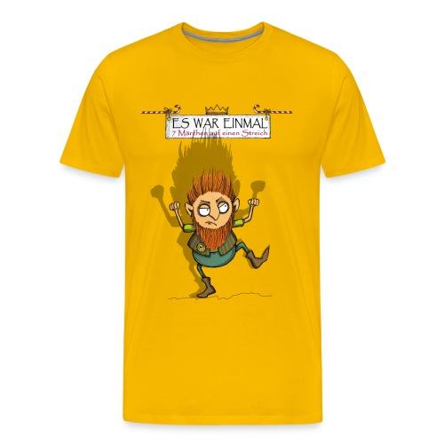 ES WAR EINMAL Rumpelstilzchen - Männer Premium T-Shirt