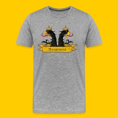 Zwei köpfe - Camiseta premium hombre