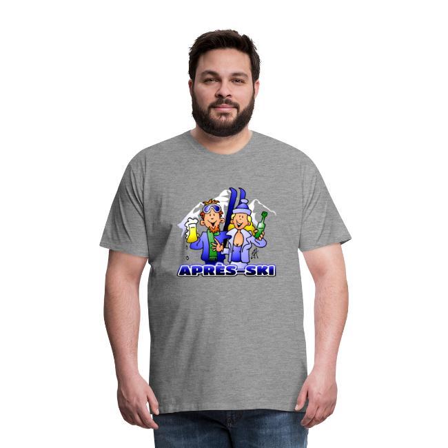 Après-ski - Mannen Premium T-shirt