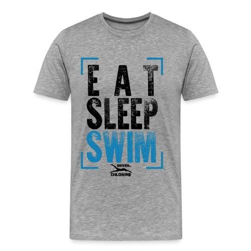 eat - sleep - swim - Männer Premium T-Shirt