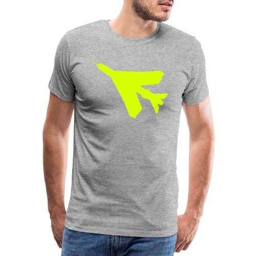 BAC English Electric Lightning Silhouette - Men's Premium T-Shirt