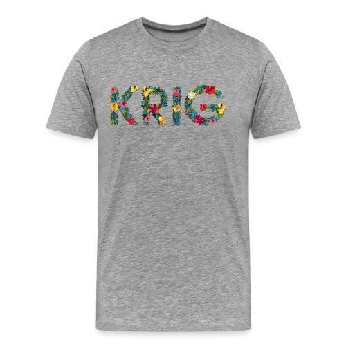 Blomstrende krig - Premium T-skjorte for menn