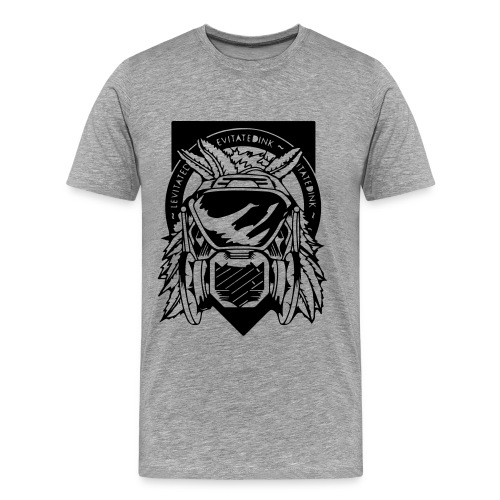 Apache Levitated Mask - Men's Premium T-Shirt