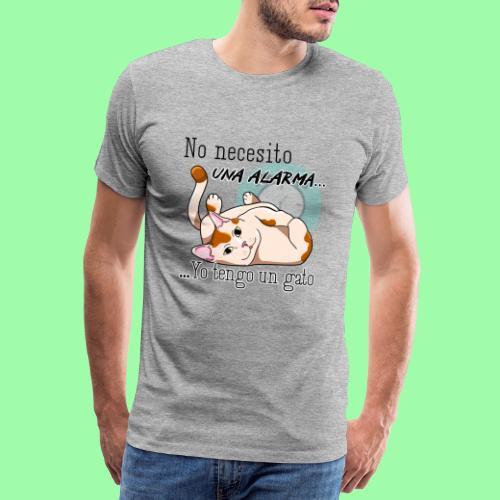 No necesito alarma - Camiseta premium hombre