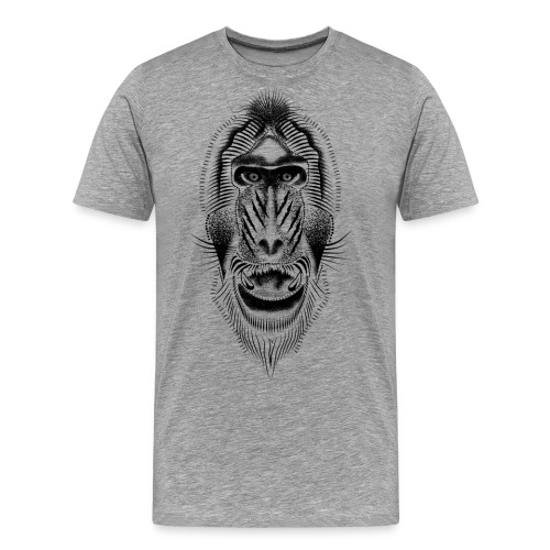 mandrill tattoo - Men's Premium T-Shirt