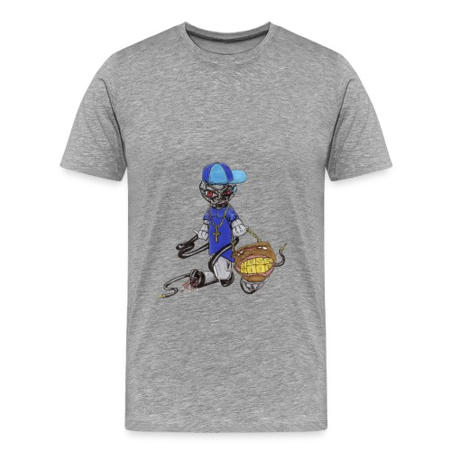 Ghetto Mic - Männer Premium T-Shirt