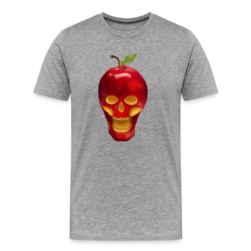 Apple Skull - Männer Premium T-Shirt