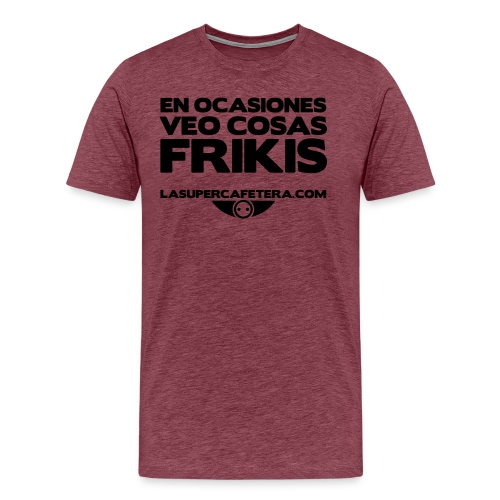 cosasfrikislogo - Camiseta premium hombre