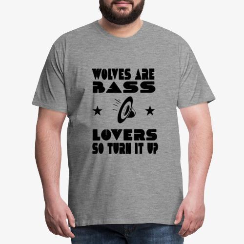 Designecritures wolves - T-shirt Premium Homme