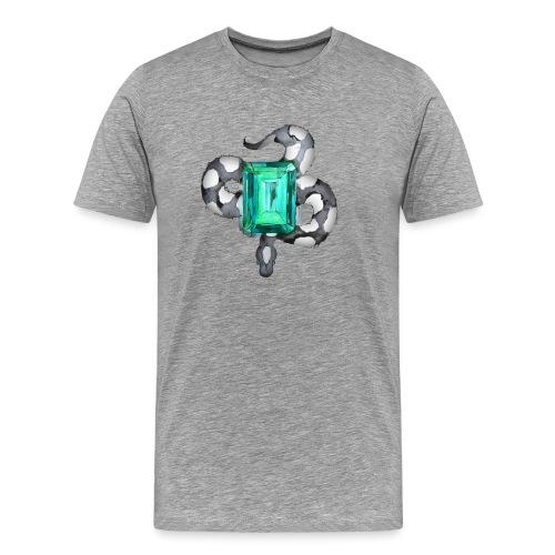 Emerald Snake - T-shirt Premium Homme