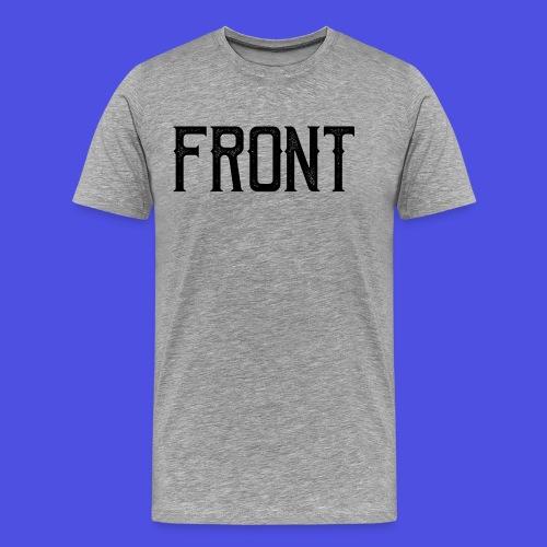 Front tshirt - Mannen Premium T-shirt