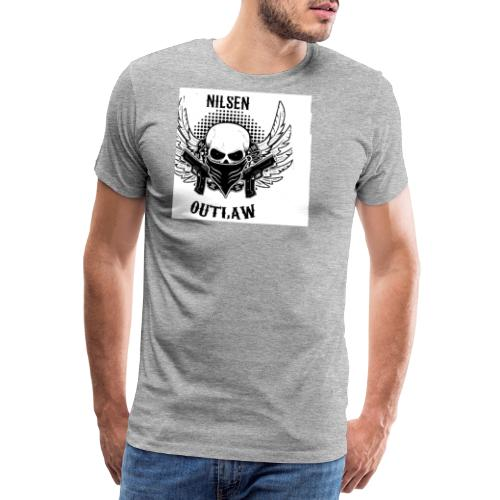 Nilsen Outlaw Head - Men's Premium T-Shirt