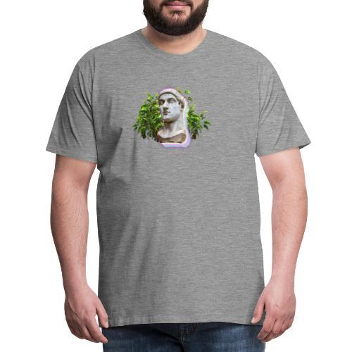 Vaporwave Statue - Camiseta premium hombre