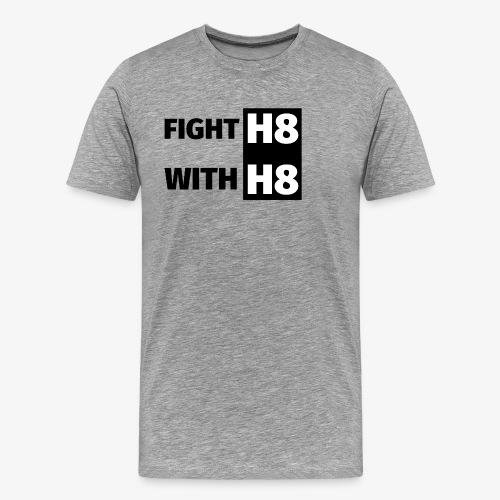 FIGHTH8 dark - Men's Premium T-Shirt