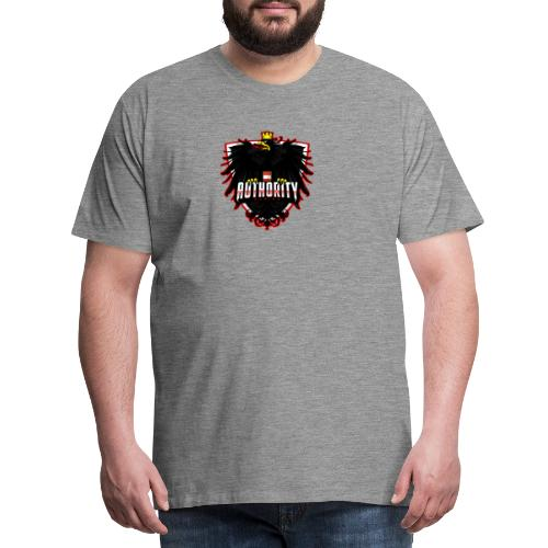 AUThority Gaming red - Männer Premium T-Shirt