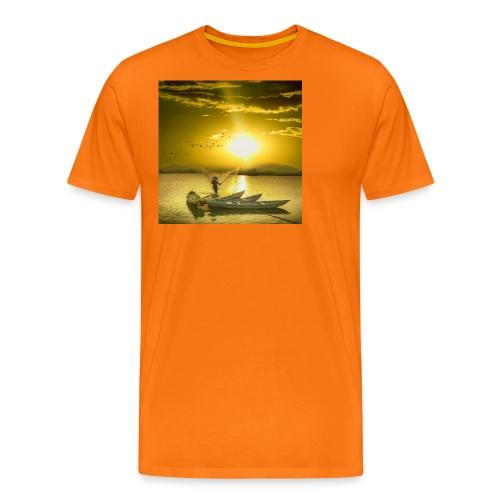 Tramonto - Maglietta Premium da uomo