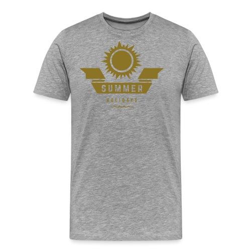 Summer holidays - Miesten premium t-paita