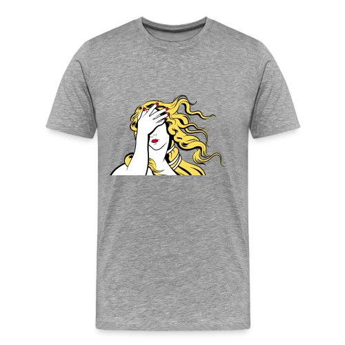 Facepalm Venus - Männer Premium T-Shirt