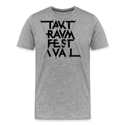 ttf logo schwarz - Männer Premium T-Shirt