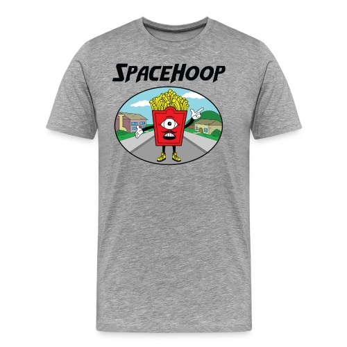 SpaceHoop - Monday Fries - T-shirt Premium Homme