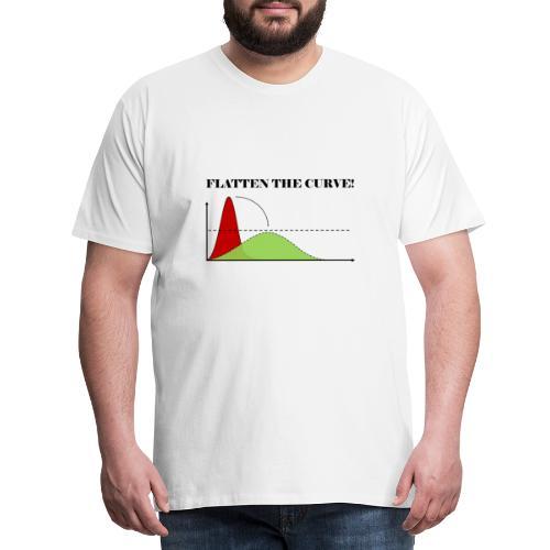 Flatten the curve - Men's Premium T-Shirt