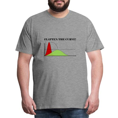 Flatten the curve - Men's Premium T-Shirt