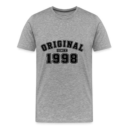 Original Since 1998 College Style - Männer Premium T-Shirt