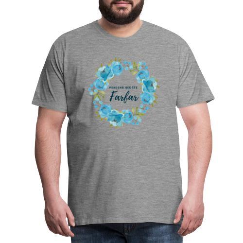 Verdens bedste farfar - Herre premium T-shirt