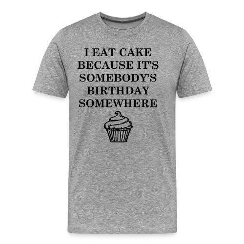 petit gâteau d'anniversaire - T-shirt Premium Homme