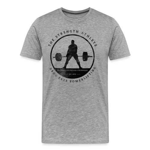 tsadeadliftblack - Men's Premium T-Shirt