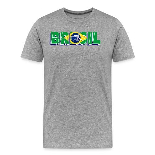 brésil - T-shirt Premium Homme