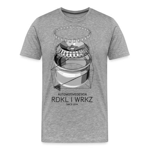 rdklwrkz wheelporn neu 1 png - Männer Premium T-Shirt