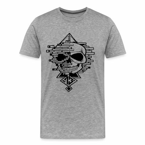 crane graphique - T-shirt Premium Homme