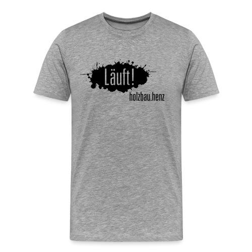 Läuft 2.0 - Männer Premium T-Shirt