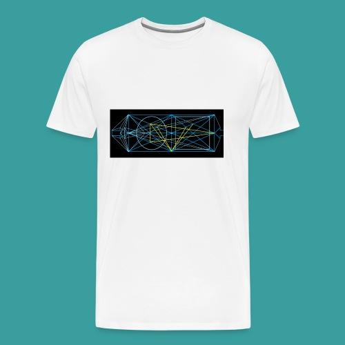 simmetria intelletuale - Maglietta Premium da uomo